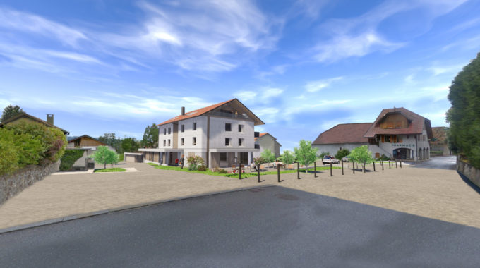 Projet D'aménagement Du Centre-bourg